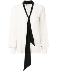 Blusa blanca de Lanvin