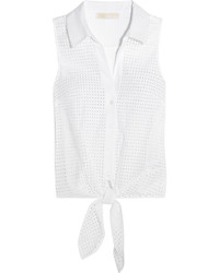 Blusa blanca de MICHAEL Michael Kors