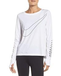 Blusa blanca de Nike
