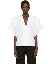 Blusa Blanca de Victoria Beckham