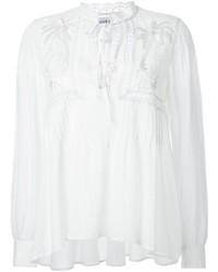 Blusa campesina blanca de Muveil