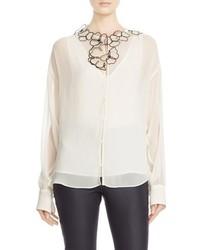 Blusa con print de flores Blanca de See by Chloe