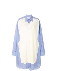 Blusa de botones celeste de Maison Margiela