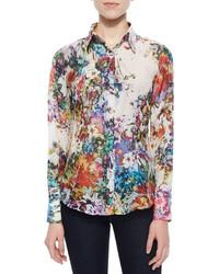 Blusa de botones medium 582944