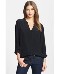 fe3d4f7f7d Comprar una blusa de botones negra de Nordstrom  elegir blusas de ...