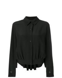 Blusa de botones negra de Chloé
