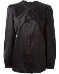Blusa de botones negra de Givenchy