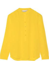 Blusa de manga larga amarilla de Stella McCartney