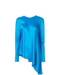 Blusa de manga larga azul de MSGM