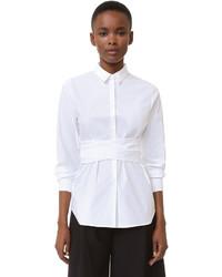 Blusa de manga larga blanca de Rochas