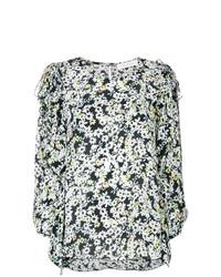 Blusa de manga larga con print de flores en multicolor de See by Chloe