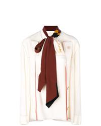 Blusa de manga larga en beige de Marni