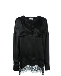 Blusa de manga larga negra de Faith Connexion