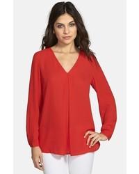 28dffc2eac Comprar una blusa de manga larga roja de Nordstrom  elegir blusas de ...