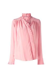 Blusa de manga larga rosada de Ermanno Scervino