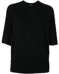 Blusa de Punto Negra de Lanvin