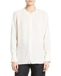 Blusa de seda blanca de Vince