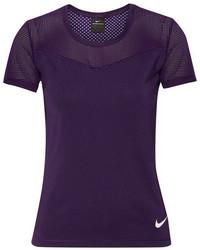Blusa en violeta de Nike