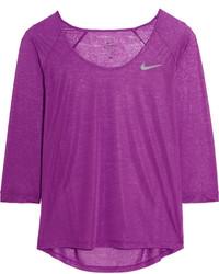Blusa morado de Nike