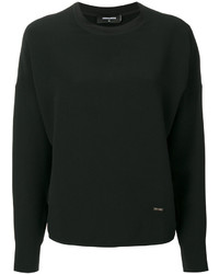 Blusa Negra de Dsquared2