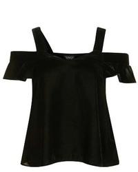 Blusa Negra de Topshop