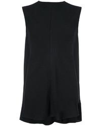 Blusa negra de Victoria Beckham