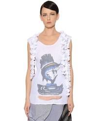 Blusa Plisada Blanca de J.W.Anderson