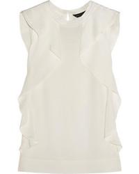 Blusa sin mangas blanca de Marc by Marc Jacobs