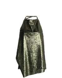 Blusa sin mangas de lentejuelas verde de MARQUES ALMEIDA