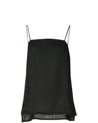 Blusa sin mangas negra de Matin