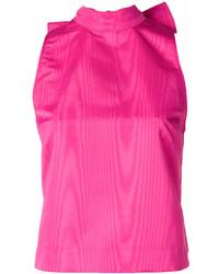 Blusa sin mangas rosa de MSGM