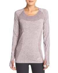Blusa violeta claro de Nike