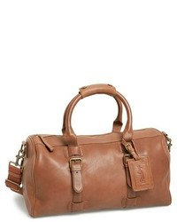 Bolsa de viaje de cuero marrón de Rawlings Sports Accessories