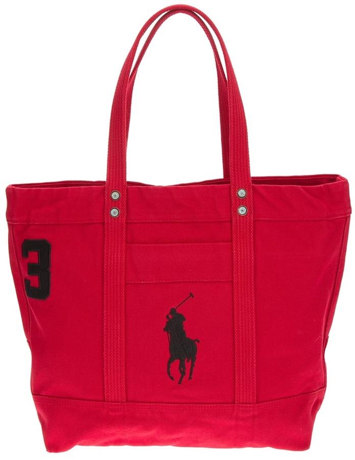 Bolsa de viaje en multicolor de Ralph Lauren