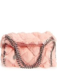 Bolsa tote acolchada rosada de Stella McCartney