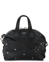 Bolsa tote con tachuelas negra de Givenchy