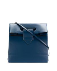 Bolsa tote de cuero azul marino de Golden Goose Deluxe Brand