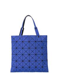 Bolsa tote de cuero azul de Bao Bao Issey Miyake