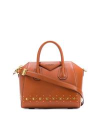 Bolsa tote de cuero en tabaco de Givenchy