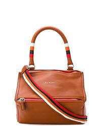 Bolsa tote de cuero marrón de Givenchy
