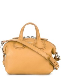 Bolsa tote de cuero naranja de Givenchy