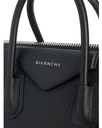 Bolsa tote de cuero negra de Givenchy