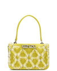 Bolsa tote de lona amarilla de Kenzo