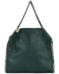Bolsa tote verde oscuro de Stella McCartney