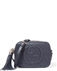 6bdf26e77a Comprar un bolso bandolera de cuero azul marino Gucci | Moda para ...