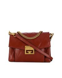 Bolso bandolera de cuero marrón de Givenchy