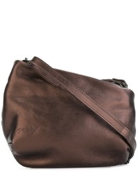 Bolso bandolera de cuero marrón de Marsèll