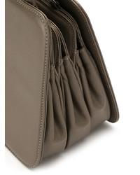 Bolso bandolera de cuero marrón de Sarah Chofakian