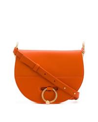 Bolso bandolera de cuero naranja de JW Anderson