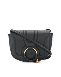 Bolso bandolera de cuero negro de See by Chloe